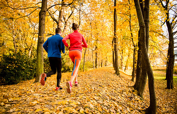 Fall Running with Layers (Zim's Healthy Living)